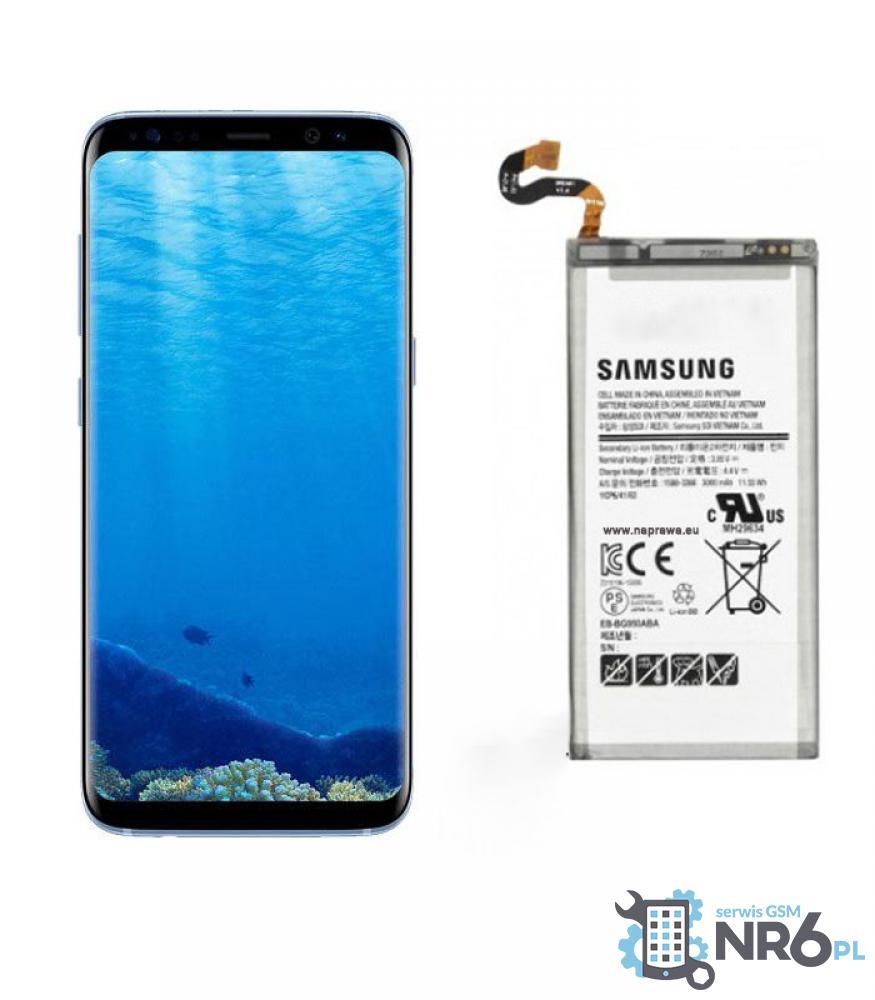 Wymiana baterii Samsung S8 i S8 Plus